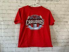 Hickory Crawdads Youth T Shirt Size Large