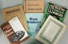 Organ Music Grab Bag 6 books 200+ pieces Hammond Lowrey see pics A 191017