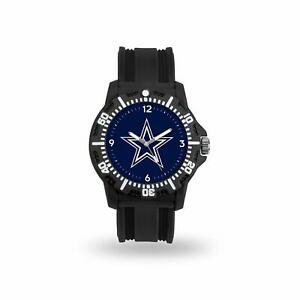 Men's Black Watch - Dallas Cowboys - Model Three Watch (NFL)