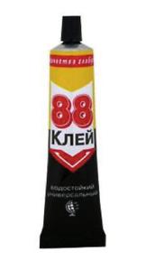 KLEBER MEGA STARK 40ml Schuhkleber ALLESKLEBER Leder Gummi PVC bis110° Klebstoff