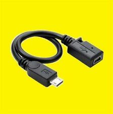 MINI USB TO MICRO CHARGING ADAPTER/CONVERTER/CABLE/LEAD