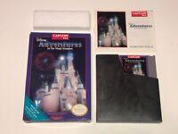 Disney Adventures in the Magic Kingdom Nintendo Nes Complete CIB EX+ Authentic