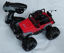 Velocity Toys Cross Country Muddy Suv Remote Control Rc red/black Truck 1:16