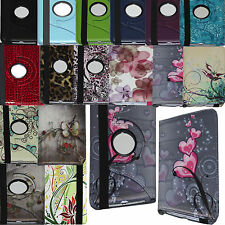 360 Rotating Leather Case Cover Stand For Samsung Galaxy Tab 2 3 4 A 7.0 10.1