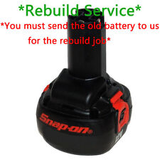 Rebuild battery Service For Snap-on 12V CTB2512 2000mah 2.0AH NiCd cells