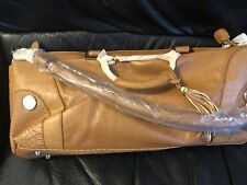 J.M WOMEN BIG SIZE BAG AND MATCHING PURSE CAMEL COLOR