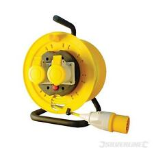Cable Reel Extension Lead 110V Freestanding on Drum. 2 Gang 25 Meters. - 868878