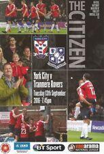 Away Teams Tranmere Rovers Non-League Football Programmes