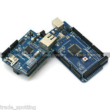 Sainsmart Mega2560 Board W5100 Ethernet Shield Kit For Arduino