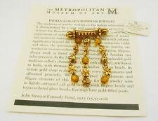Metropolitan Museum of Art Golden Blossom Pin (with MMA romance card)
