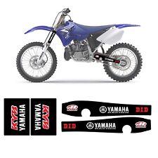NEW SWING ARM & UPPER FORK GRAPHICS YAMAHA YZ 125-250 2005-2018  D.I.D- MAXIMA