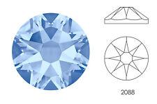 10x Swarovski® Crystals Flatback light sapphire 2088 NoHF SS34 7mm Xirius Strass