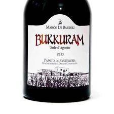 "2 bt ""BUKKURAM SOLE D'AGOSTO "" PASSITO DI PANTELLERIA DOC 2013 0,500 DE BARTOLI"