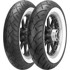 180/65B-16 Metzeler ME888 Marathon Ultra Wide White Wall Rear Tire 180/65-16 NEW