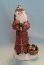 Linda Lindquist Baldwin Belsnickle Santa W/Pets Limited Edition Figurine