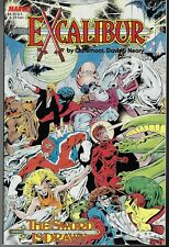 EXCALIBUR - THE SWORD IS DRAWN NM  1988 CLAREMONT ALAN DAVIS