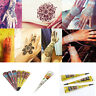 Natural Body Art Paint Temporary Tattoo color Herbal Henna Cones kit Mehandi Ink