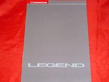 Honda Legend v6 + v6 Kat folleto de 1987