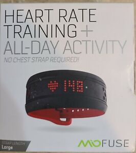 Brand New Mio Fuse Heart Rate Training + All-Day Activity Tracker (59P-LRG-INT)