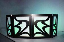 DJ FACADE/LED/BOOTH - Glissando (Black) by Dragon Frontboards