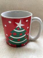 1991 Croft Westwood Coffee Mug Hayward California Tea Cup Vintage Christmas Tree