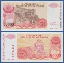 Croatia/krajina 50000 dinara 1993 UNC p. r21