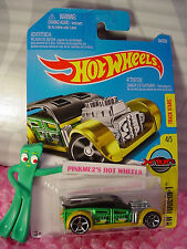 2016 i Hot Wheels FAST CASH #34✰Green/Gold/Black; oh5✰Tool-in-1✰Case N