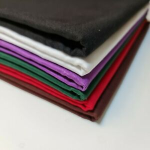 Plain Thick 100% Cotton Drill Workwear Twill Fabric Superior Quality 150 cm Wide