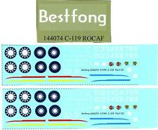 Bestfong Decals 1/144 FAIRCHILD C-119 FLYING BOX CAR Part 4 Chinese Air Force