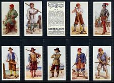 More details for full set, carreras, history of naval uniforms 1937 vg (gq951-332)