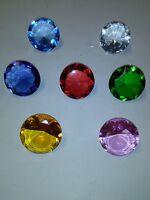 Sonic the Hedgehog all seven Chaos Emeralds! Random colors. Rare!