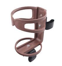 Universal Wheelchair & Walker & Rollator Beverage Cup Holder - Type I BROWN