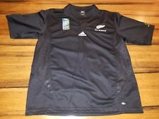 Commemorative france All Blacks Rugby New Zealand Jersey  2007 Shirt Adidas XL