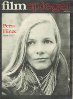 FILMSPIEGEL10/1977 Petra Hinze (FS675)