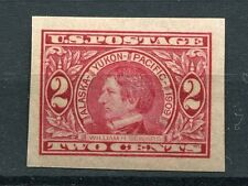 (1909) #371 2¢ Alaska - Yukon XF/SUPERB MNH unused stamp