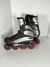 New ListingMission 500 Helium Hi-Lo In-Line Roller Hockey Skates Men's Size 9 D