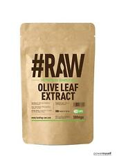 #RAW Olive Leaf Extract | 500mg V Capsules | 40% Oleropein | Anti-Oxidant