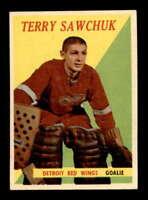 1958 Topps #2 Terry Sawchuk  EXMT+ X1611142