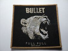 BULLET   WOVEN  PATCH