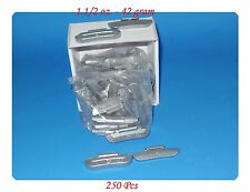 250 Pcs ZINC CLIP-ON WHEEL WEIGHT BALANCE 1.50oz 1-1/2oz P Style for Steel Wheel