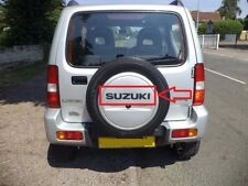 light Sticker for SUZUKI Jimny 4x4 Off road rear wheel cover decal clear chrome