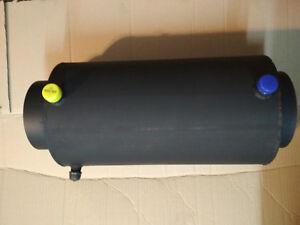Abgaswärmetauscher Rauchrohr Wärmetauscher DN180   Wasserführend