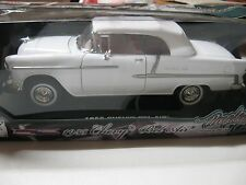 1:18 MOTORMAX TIMELESS CLASSICS 1955 Chevy Bel Air DieCast WHITE