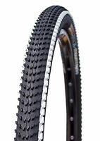 "Deli Tire 27.5"" x 2.10"", Folding, 62 TPI, White Stripe, Bike Tire, 27.5x2.10"