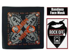 Queen Official News of The World Black Bandana Rock Band Music Kerchief