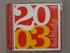 Mojo Presents 18 Tracks from the Years Best Albums 2003 NEW The Who BLACK KEYS
