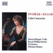 Dvorak, Elgar: Cello Concertos - Maria Kliegel, Royal Philharmonic NEW+ FREE P&P