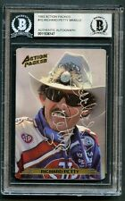 Richard Petty #10 signed autograph 1993 Action Packed Braille Racing Card BAS