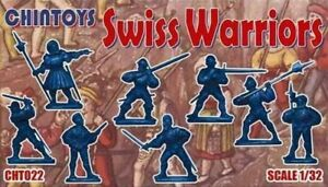 Chintoys 1/32 Swiss Warriors - BAGGED, NO BOX # 022