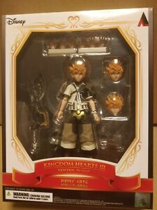 OFFICIAL KINGDOM HEARTS III (3) VENTUS BRING ARTS ACTION FIGURE - NEW SEALED